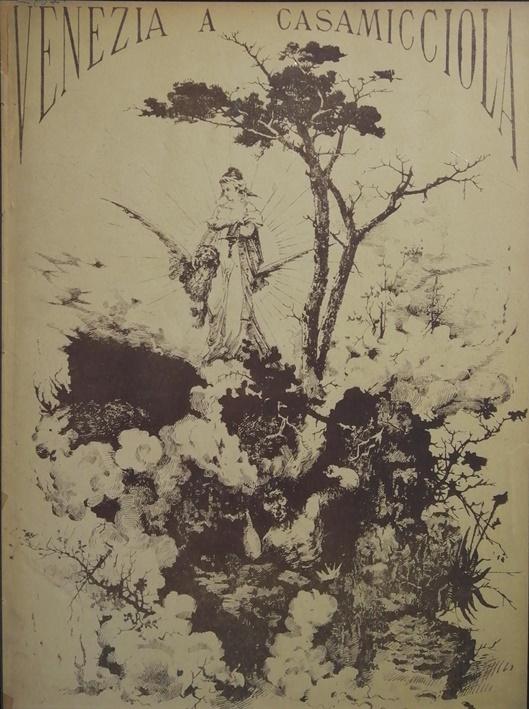 1. OLASZ LITHOGRÁFIA 1881 Venezia a Casamicciola