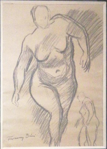 173. FERENCZY BÉNI (1890-1967) Akt