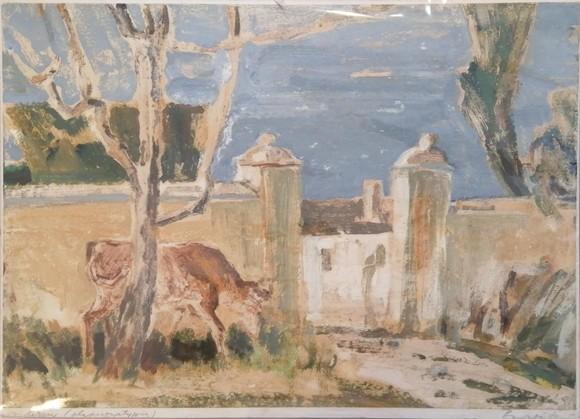 264. BARABÁS LÁSZLÓ (1934- ) Vidéken